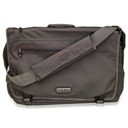 ECBC Trident Messenger Bag w/Adjustable Shoulder Strap (Gray) -Fits Up To 14 Notebooks